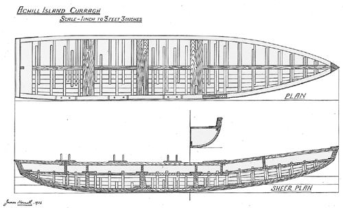 Achill currach_Hornell 1938_plan1.jpg