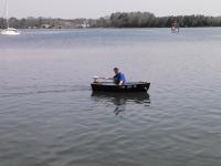 Me in dinghy